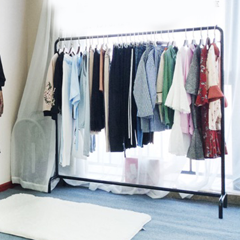 卧室衣架家用挂衣架子落地加粗室内单杆式晾晒简易衣服包包衣帽架满340.00元可用255元优惠券
