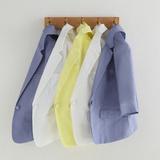 亚麻小西装女士短款2020夏季新款韩版七分袖棉麻休闲西服外套薄款