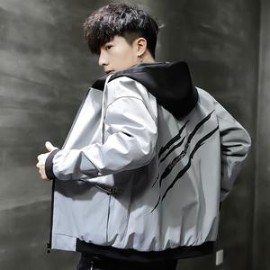 领30元券购买男士春秋款2019新款男装韩版棒球服