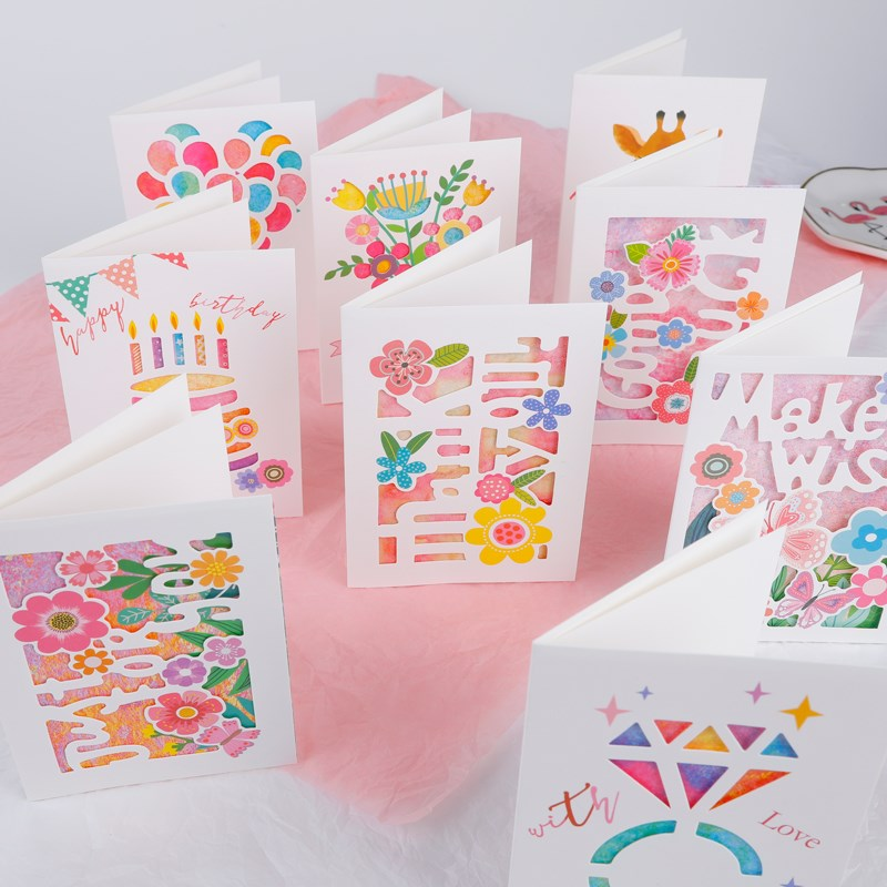 happy birthday cards with envelope birthday invitation card图片