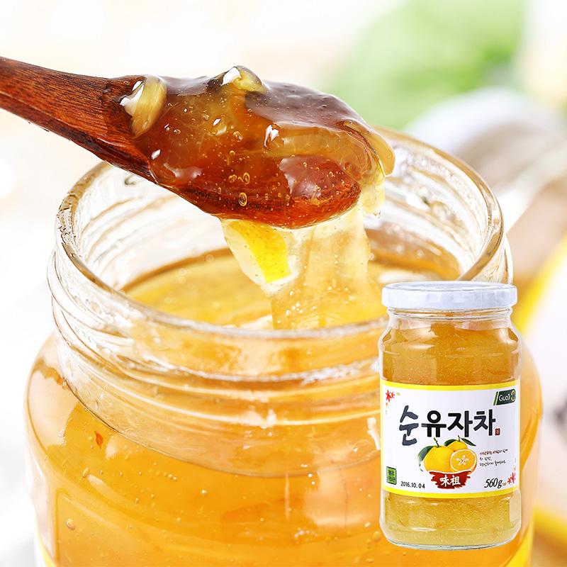 包郵 韓國 國際蜂蜜柚子茶560g 富含維C 飲料飲品水果茶