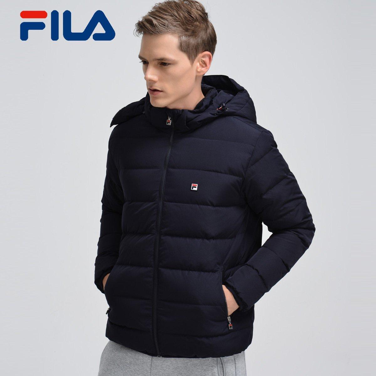 FILA фиджи музыка мужчина пальто 2017 новый зимний осенний анти тепло ветер съемный крышка куртка мужчина 25743963E