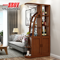 Solid wood wine Cabinet partition cabinet modern Chinese Xuan Cabinet Hall Cabinet Hall cabinets screen cabinet decorative cabinets solid wood shoe Cabinets