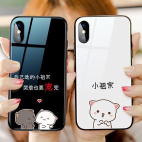 小祖宗情侣苹果x猫咪7plus手机壳
