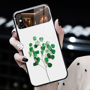 蘋果XR手機殼玻璃iphone11補妝鏡iphonex小清新女款化妝鏡子8plus/7/iphone xs max少女心6s網紅個性創意