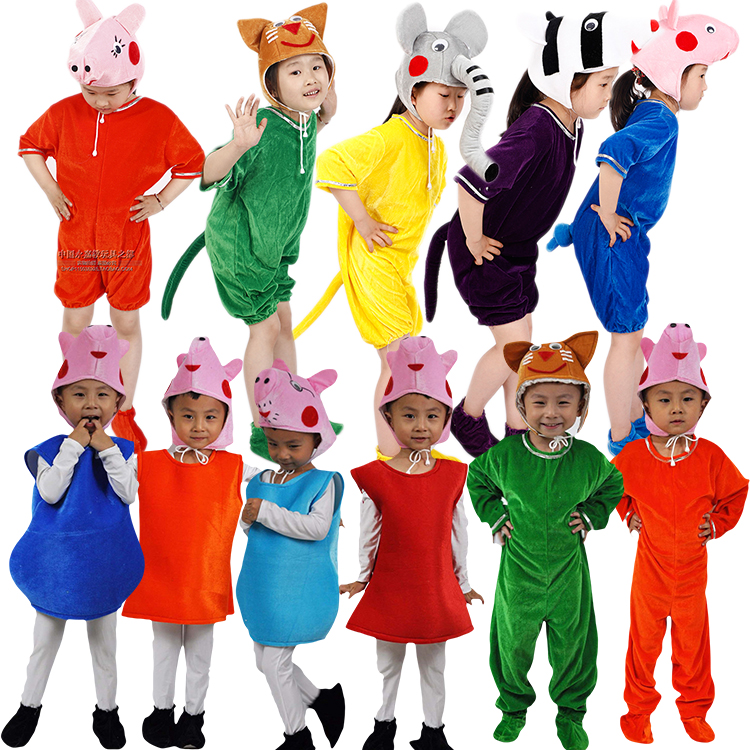 Piggy page, George, childrens role play, adult parent child performance, clothing lamb, Susie factory direct sale