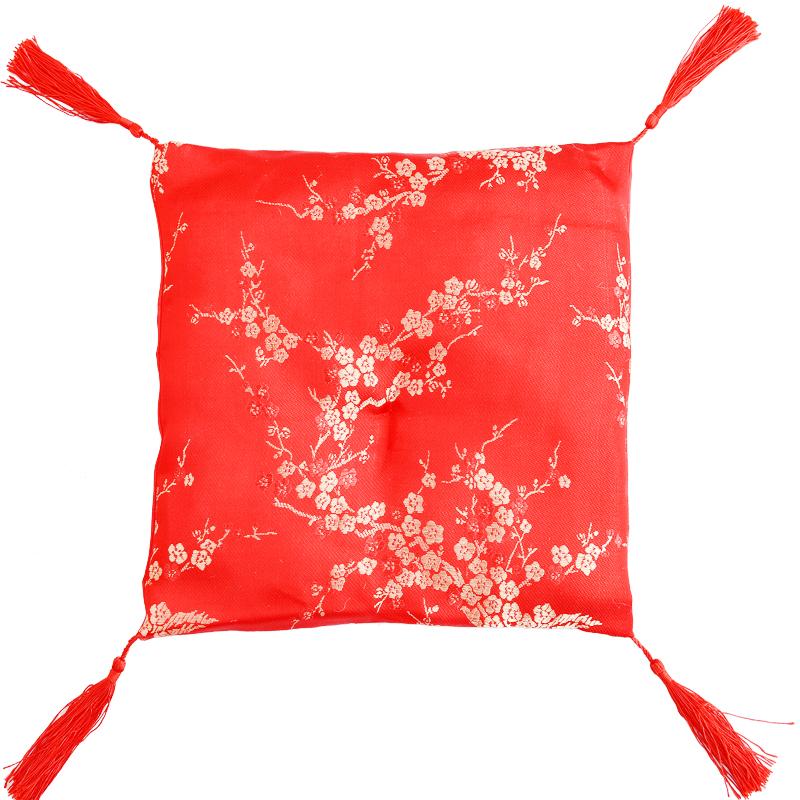 招财猫坐垫配件红布垫开运垫子摆件搭配布垫家居客厅创意饰品包邮