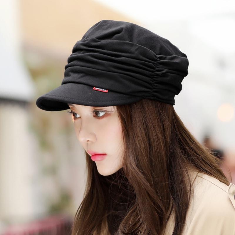 (用51元券)韩版潮春秋韩国潮流妈妈鸭舌帽