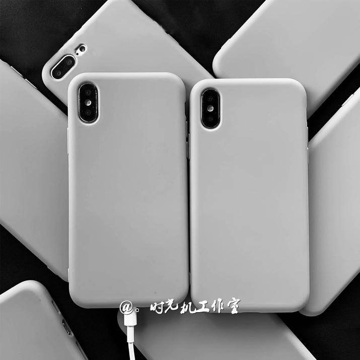 性冷淡纯色华为荣耀10青春版手机壳防摔V10十荣耀9X九ins简约灰色
