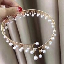 原创人气淡水项链珍珠套装不褪色精致简约锁骨金项链14天然颈饰设