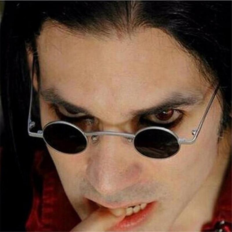 2020新款超小个性圆形框太阳镜潮男蹦迪墨镜女网红复古街拍眼镜酷