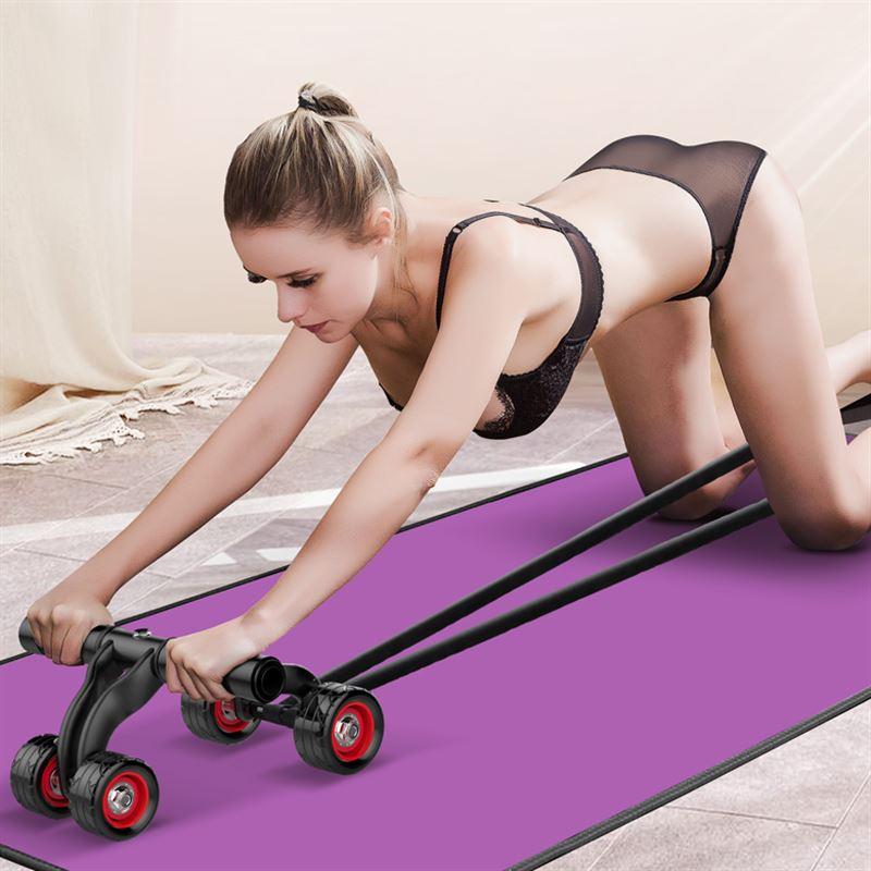 器材推腹健腹垫建腹家用肌轮锻炼身体键运动器械收腹瘦腹健身收腰