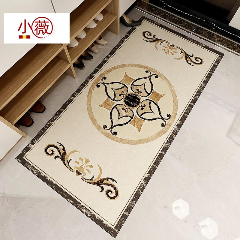 客厅玄关走廊过道地面贴纸瓷砖地砖装饰地贴加厚自粘防水耐磨防滑
