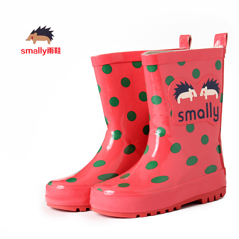 c10f1846f Smally children's rain shoes boys and girls rubber shoes shoe shoes fashion  Korean boots water shoes B70 | ezbuy.my