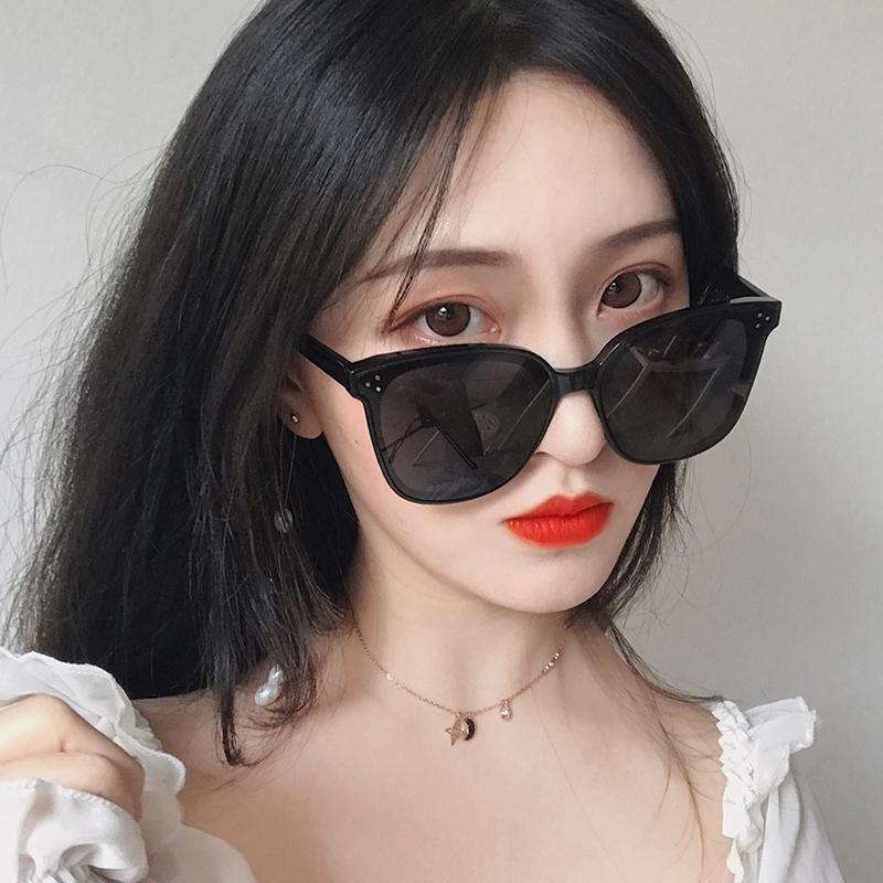 墨镜女2021新款韩版潮大脸显瘦黑色评价如何