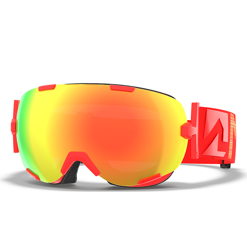 New marker mark professional ski goggles double-layer anti fog Snow Goggles ball mirror double lens project