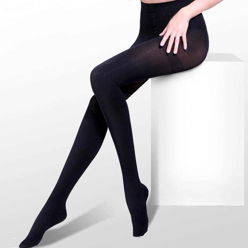 Longsha stockings, velvet pantyhose, anti-hook silk stockings, spring and autumn thicker medium-thick long barrel socks