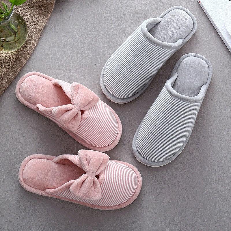 棉拖鞋家庭成人男士冬款新款棉鞋厚底创意室内纯色家居女款时冬天