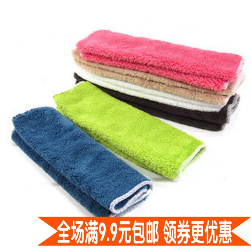 清洁毛巾抹布吸水不掉毛韩国新款厨房布木纤维不沾油洗碗巾多功能