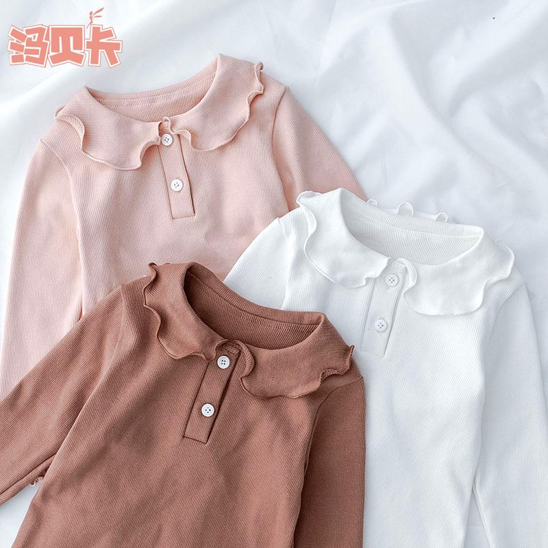 女童t恤春秋装新款洋气白色打底衫好用吗
