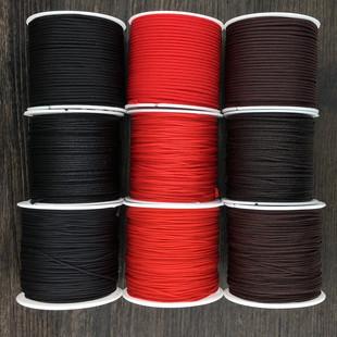 红绳子手工编织绳72号玉线手链项链中国结挂件吊坠耐磨串珠绳材料