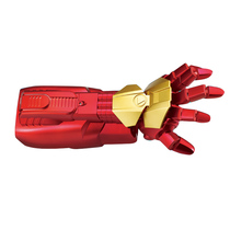 Childrens toy gun electric serial can emit crystal bullet simulation boy Iron Man mechanical arm water bullet gun