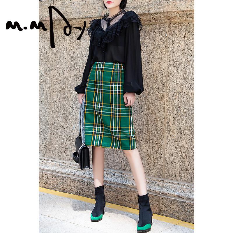 惠美高端定制时尚黑色蕾丝衬衫女2019秋季新款衬衣上衣设计感小众