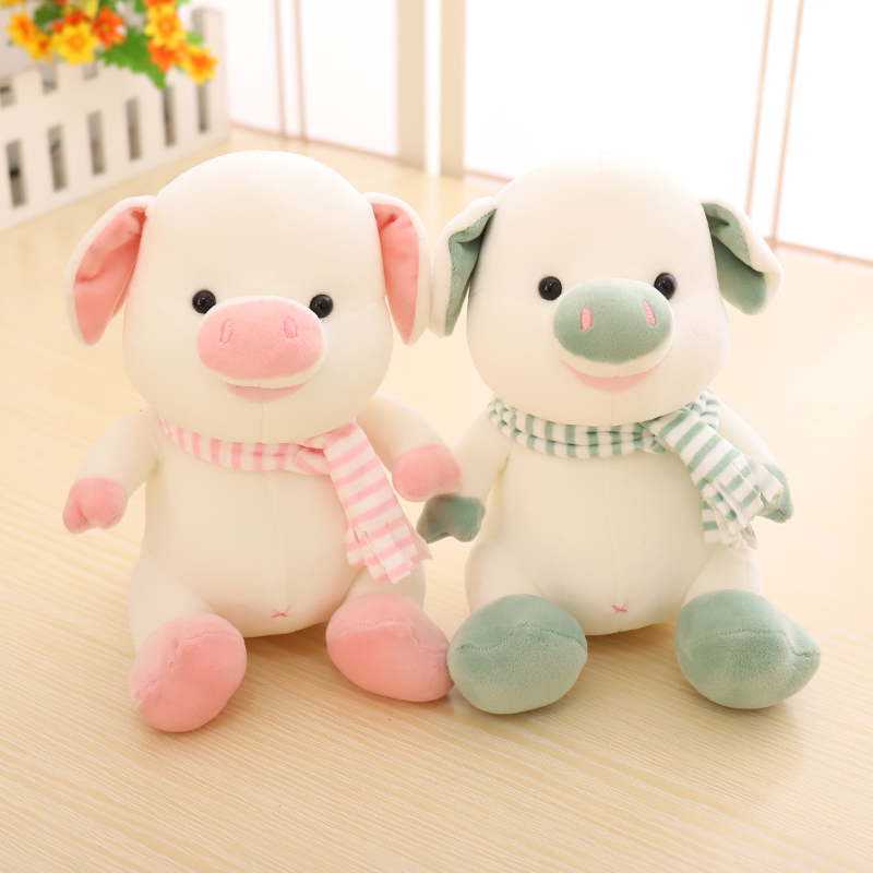 赛特嘟嘟可爱大耳朵猪猪公仔毛绒玩具羽绒棉挂件生日礼物送女生