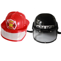 Childrens family role-playing firefighter prop hat firefighter Sam Fire cap helmet