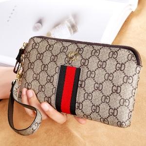 欧美时尚大容量手拿包女士钱包女长款零钱包女手机包斜挎小包手包
