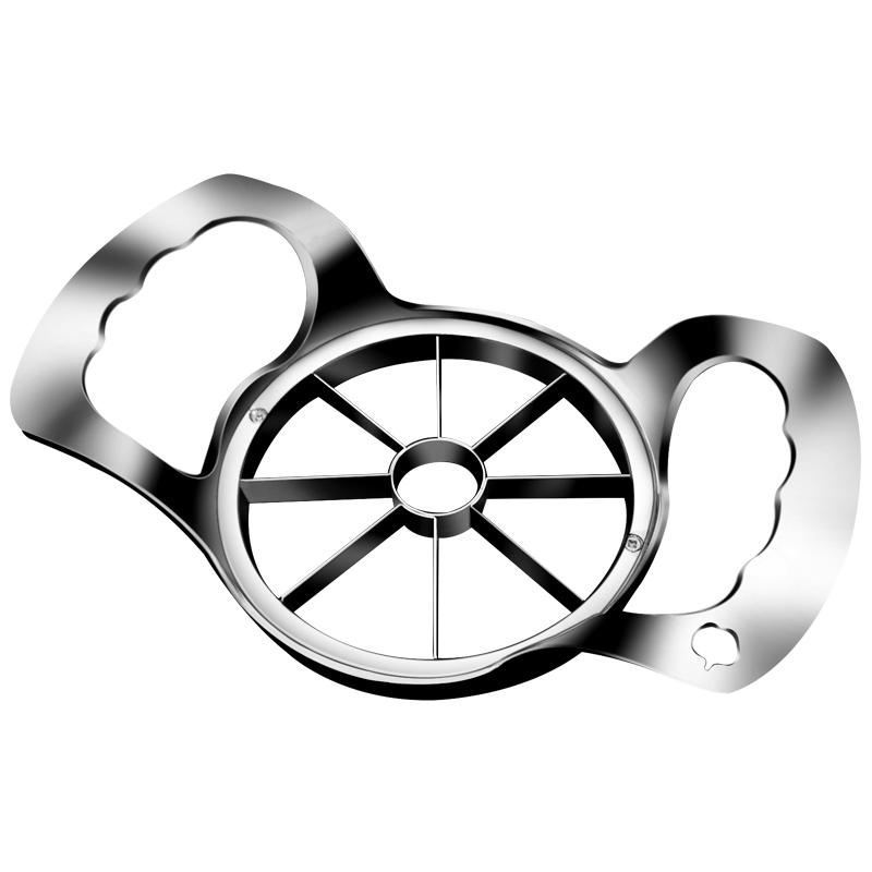 不锈钢切苹果器削果器苹果切割神器工具厨房大号加厚切片水果器