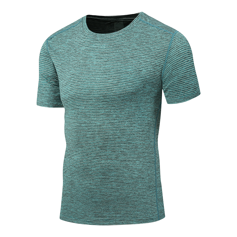 Summer quick drying clothes short sleeve men and womens same couple fitness exercise sweat wicking T-shirt round neck ice feeling half sleeve quick drying clothes