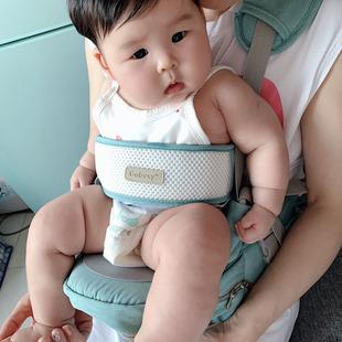婴儿背带腰凳抱娃神器外出简易坐凳四季轻便夏季多功能宝宝前抱式
