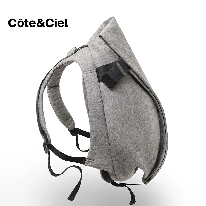 Genuine Cote & Ciel rucksack laptop 15 inch 17 inch computer backpack fashion trend men