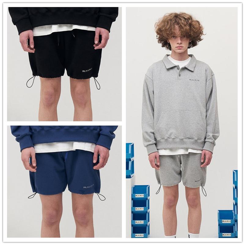 直邮春夏短裤运动宽松休闲裤百搭束腿设计师日系REPLAY CONTAINER