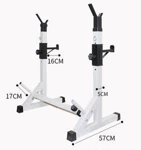 商用型健身多功能举重床家用智能伸缩卧推架深蹲架杠铃架健身器材
