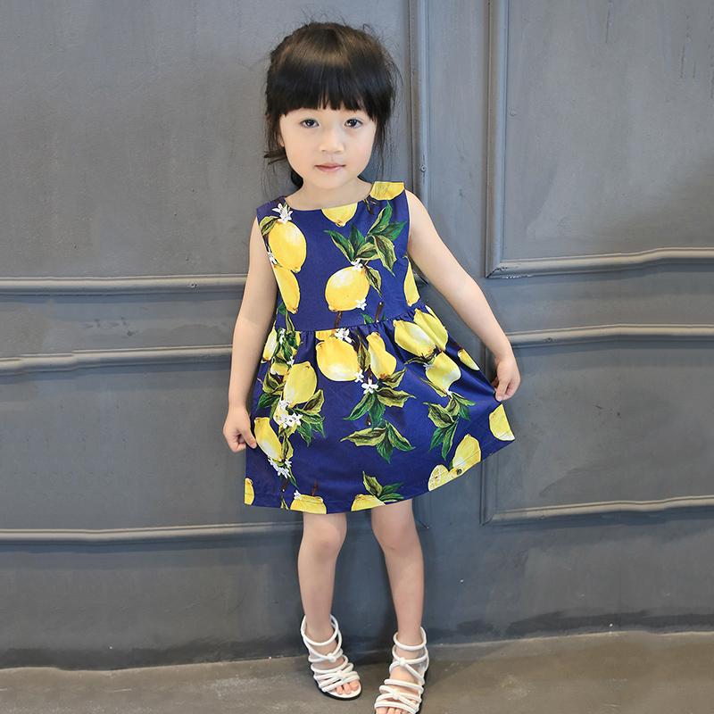 2016 連衣裙女童 背心裙兒童裙子寶寶夏裝