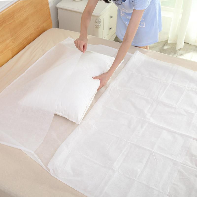 宜洁一次性睡袋酒店隔脏便捷式出差旅游野营床单被罩枕套旅行用品