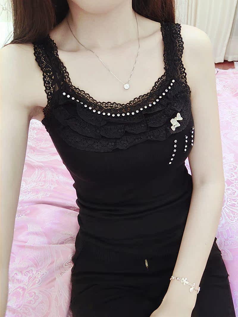 Корейская версия новой алмаз кружева вязать безрукавка ремень летом тонкий тонкий рукавов базовый свитер женщин