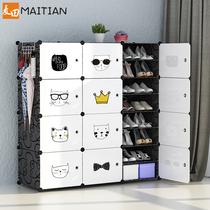 简易防尘鞋架多层家用室内好看经济型大容量鞋柜子收纳神器放门口