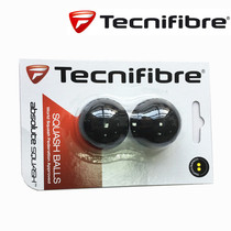 Tecnifibre a professional double yellow dot Squash Competition Training Junior high school squash Racket Ball