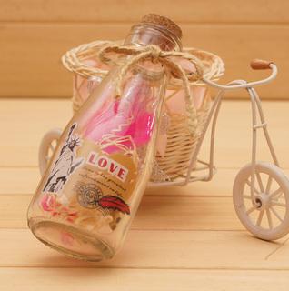 Банки-пожелания,  Тайвань код творческий подарок / перо письмо желая бутылка / счастливый бутылка / стеклянные бутылки / друфтующие бутылки, цена 88 руб
