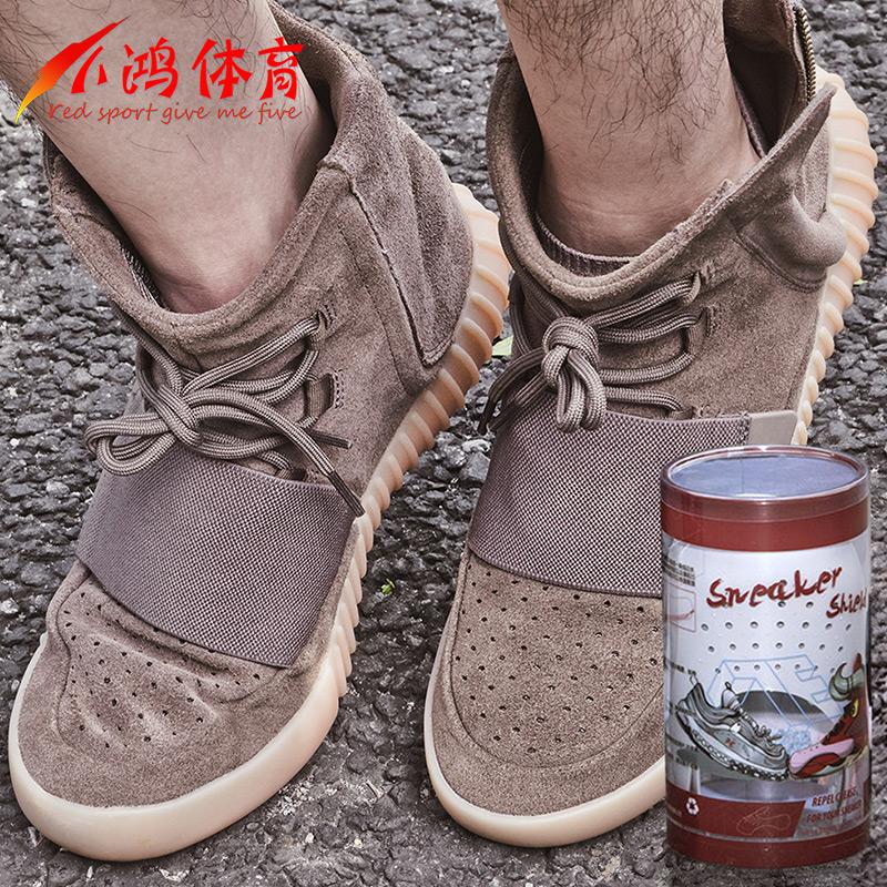 Небольшой гусь физическая культура красный муравей противо морщина обувной щит противо складка изгиб обувной поддержка Sneaker Shields кроссовки щит