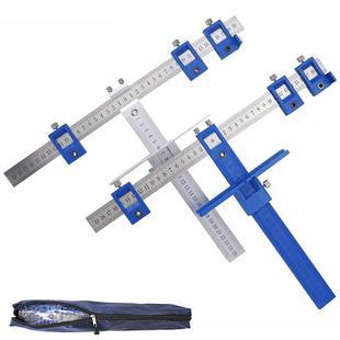 乔纳木工打孔定位器 橱柜抽屉拉手安装可调节开孔定位辅助安装工