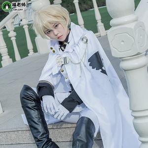 猫老师百夜米迦尔COS服装全套终结的炽天使cosplay男装动漫军制服