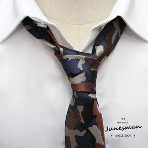 原创品牌六月男人手工制休闲领带