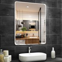 灯镜洗手盆圆形壁挂卫浴镜智能卫生间浴室镜子LED圆镜背光nolsia