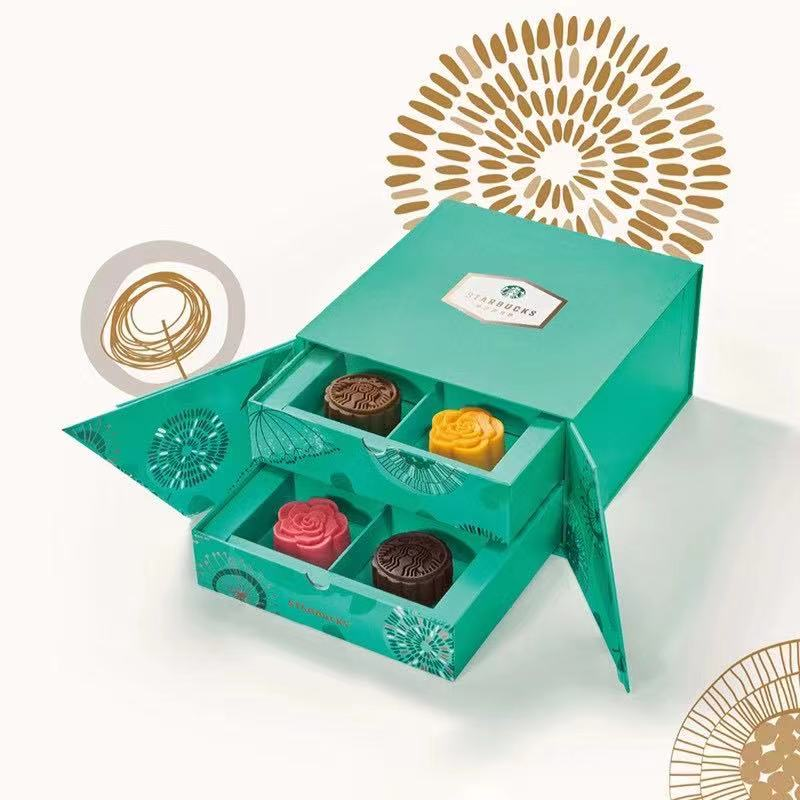 Starbucks moon cake coupon / ticket 458 Xingqing mid autumn moon cake gift box delivery coupon general package in Hubei Province