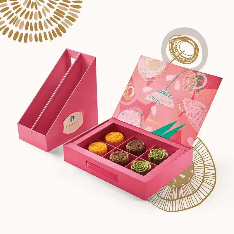 Starbucks moon cake coupon / ticket 348 Xingqing mid autumn moon cake gift box delivery coupon general package in Hubei Province