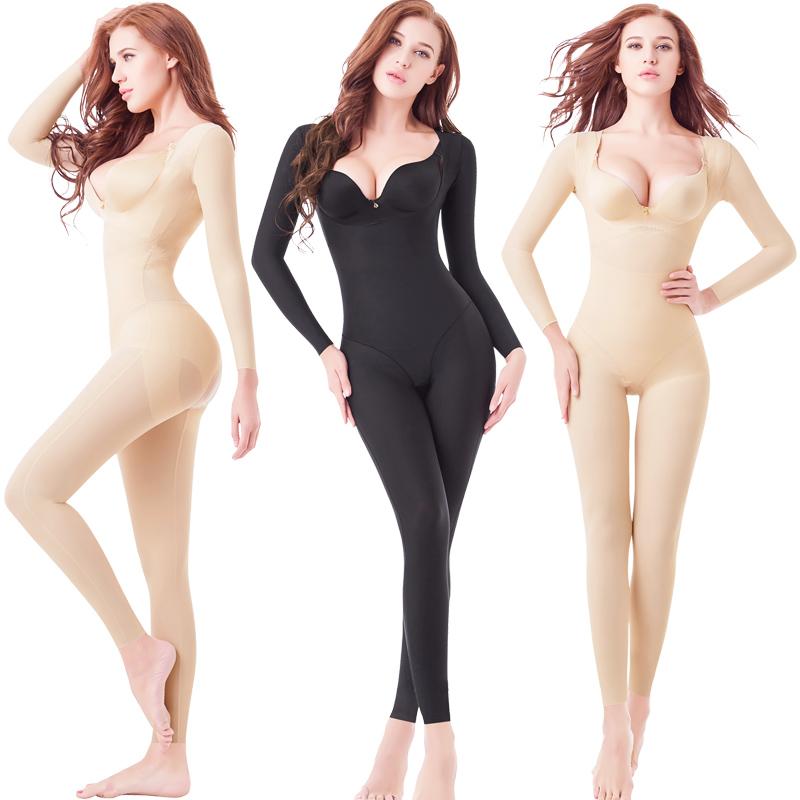全身强压塑形美体内衣收腹束腰提臀燃脂瘦身保暖塑身衣产后女束身